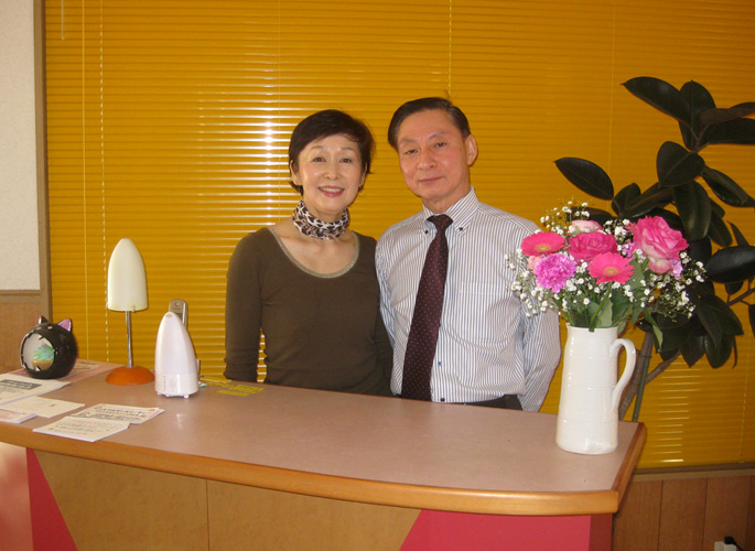 渡辺ダンススタジオの講師の良平先生・恵子先生